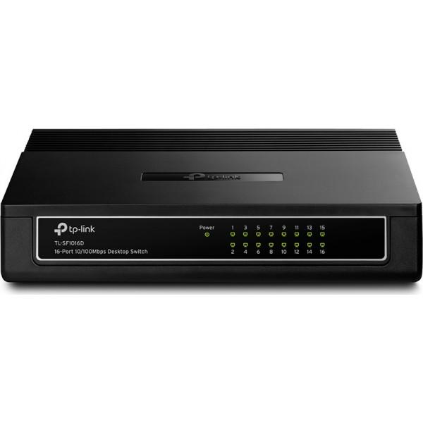 Switch Tp-Link SF1016D v6 16 Ports 10/100Mbps